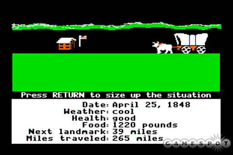 Clockwork Hare » Classic Video Game Monday: The Oregon Trail