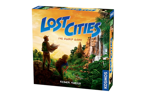 Board Game Reviews - Lost Cities - The Toy Insider
