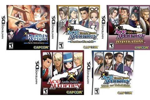 Phoenix Wright: Ace Attorney, Justice for All, Trials and ...