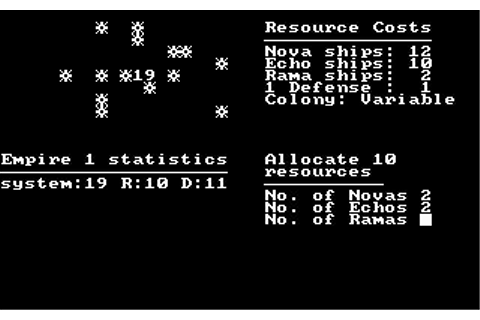 Andromeda Conquest Download (1982 Strategy Game)