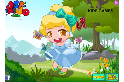 Play Chibi Cinderella - Free online games with Qgames.org