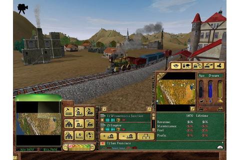Railroad Tycoon 3 - Free Full Version Games | Download ...