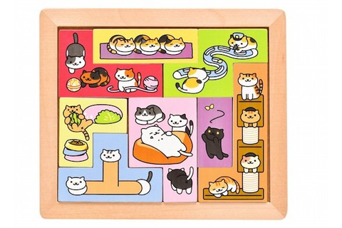 Japan Trend Shop | Neko Atsume Kitty Collector Puzzle Game