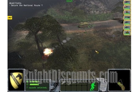 PLATOON Vietnam Strategy JC RTS PC Game NEW Sealed ...