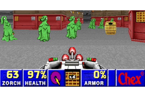 Strange Moments in Gaming: Chex Quest: Doom Meets Cereal