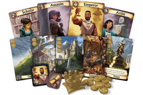 Citadels - A Revised Edition - BoardGame Stories