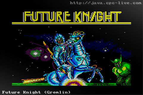 Future Knight (Gremlin) - JavaCPC games site