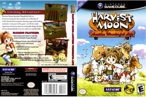 Harvest Moon Another Wonderful Life ISO