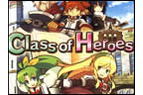 Classic Game Room HD - CLASS OF HEROES for PSP review ...