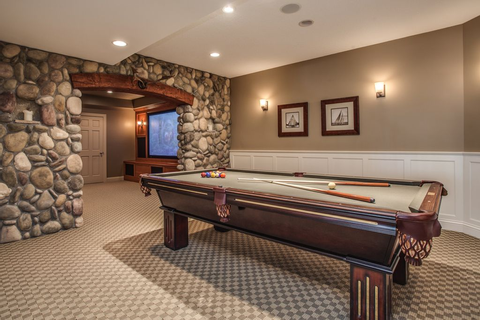 Pin Game Room And Game Room And Rec Room Ideas Designs ...