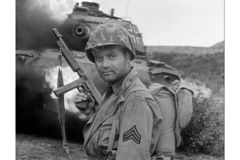 "Vic Morrow as Sgt. Saunders in ""Combat"". in 2020 ..."