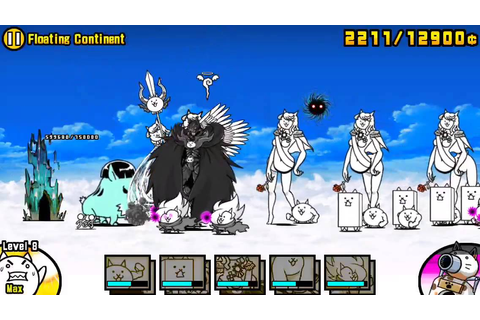 [The Battle Cats] Game impossible. Future chapter ...