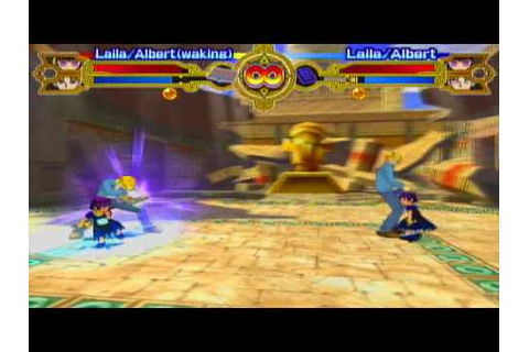 Zatch Bell: Mamodo Battles (Gamecube): Laila (Awakened) VS ...