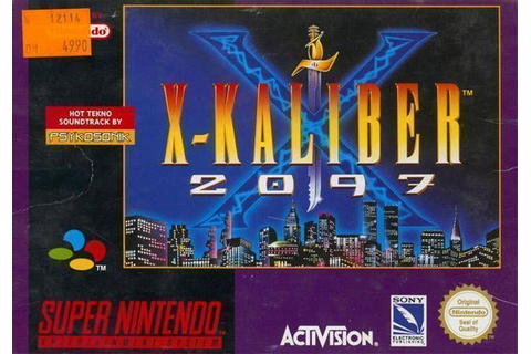 X-Kaliber 2097 - Super Nintendo(SNES) ROM Download