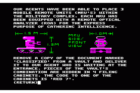 Hacker II: The Doomsday Papers (1986) by Activision Apple ...