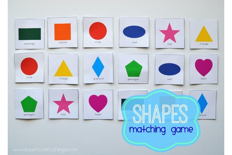 Triangle Ship Craft and Shape Matching Game | I Heart ...