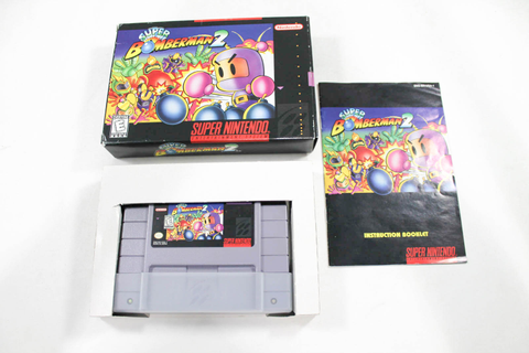 Super Bomberman 2- Complete Nintendo SNES Game 9078069