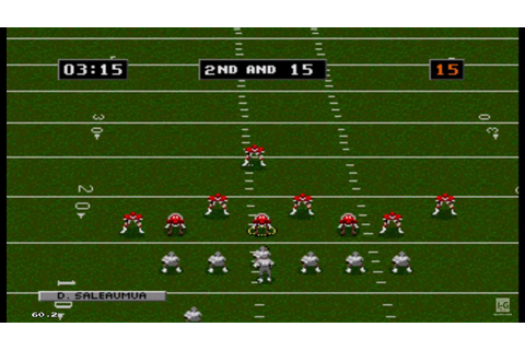 NFL Football '94 Starring Joe Montana Sega Genesis ...