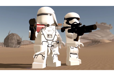 LEGO Star Wars: The Force Awakens - All Stormtrooper ...