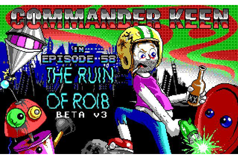 Commander Keen 58 The Ruin Of Roib « PekoeBlaze - the ...