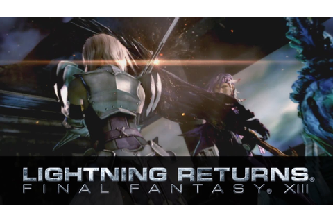 Tokyo Game Show 2013 Trailer - LIGHTNING RETURNS: FINAL ...