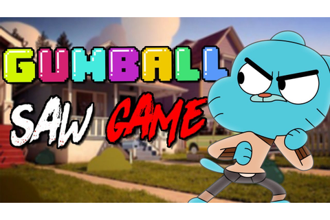 GUMBALL SAW GAME! - YouTube
