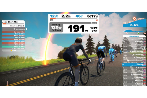 Zwift to Incorporate Running, VR into Its Platform | Bicycling