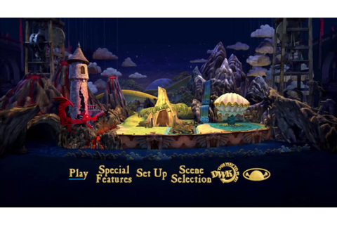 Shrek the Third MENU DVD HD (2007) - YouTube