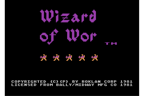 Download Wizard of Wor - My Abandonware