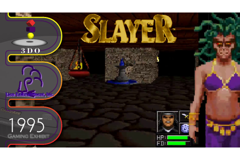 Advanced Dungeons & Dragons: Slayer - 3DO - YouTube