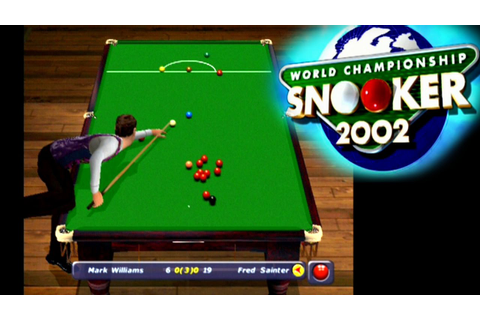 World Championship Snooker 2002 ... (PS2) - YouTube