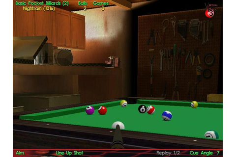 Virtual Pool Hall Screenshots | GameWatcher