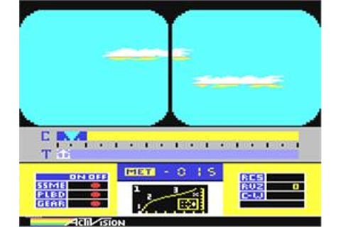 Space Shuttle: A Journey into Space - Commodore 64 - Games ...