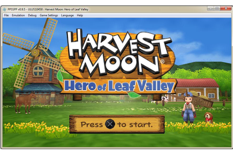 Download Game Harvest Moon Hero of Leaf Valley For PC ...