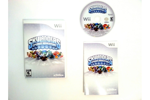 Skylanders Spyro's Adventure game for Wii (Complete) | The ...