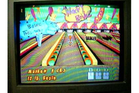 Playstation Animaniacs Ten Pin Alley Run Game 8 Part 2 ...