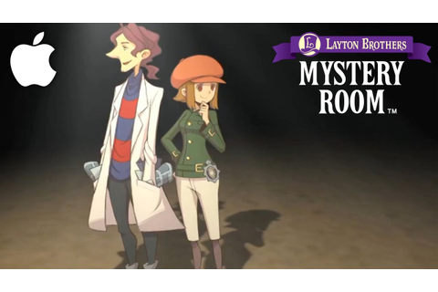 Layton Brothers: Mystery Room Review [iOS] - YouTube