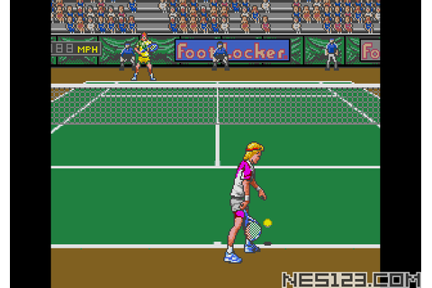 David Crane's Amazing Tennis SEGA Roms Games online