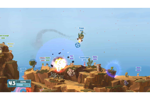Worms W.M.D PC game download free full version
