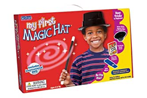 Amazon.com: My First Magic Hat with DVD Instructions: Toys ...