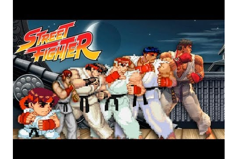 Street Fighter Marathon - Video Game History Month 2012 ...