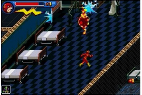 Héros de la Ligue des Justiciers : Flash sur Gameboy ...
