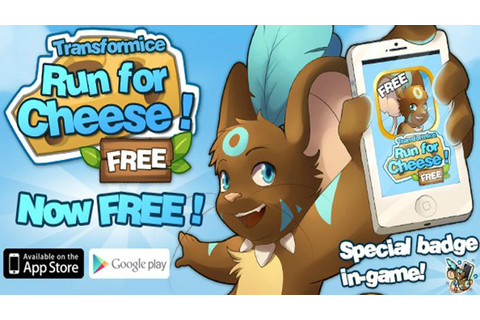 TRANSFORMICE: HOW TO UNLOCK SPECIAL RUN FOR CHEESE APP ...