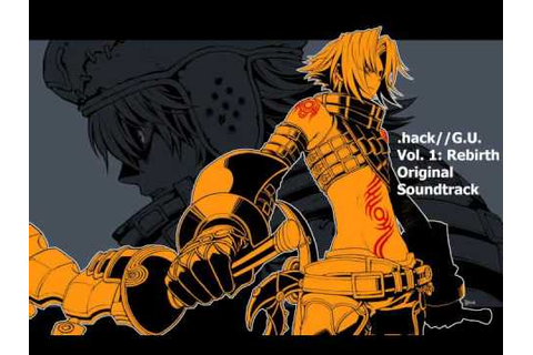 .hack//G.U GAME MUSIC OST - Are you a noob? - YouTube