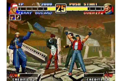 The King of Fighters 96 (1996) Boss Fight - YouTube