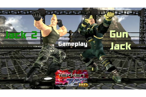 Tekken Tag Tournament HD:Gun Jack/Jack 2 Gameplay - YouTube