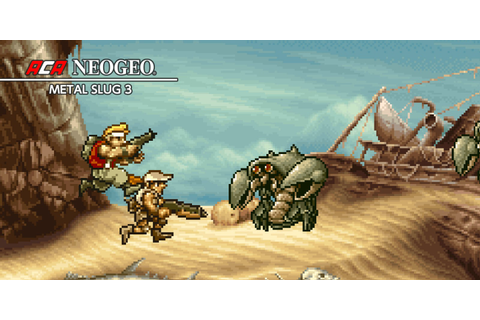 ACA NEOGEO METAL SLUG 3 | Nintendo Switch download ...