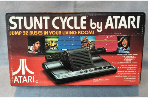 Retro Treasures: Atari Stunt Cycle