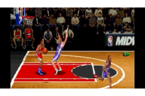 NBA Hang Time Gameplay - Best basketball game (SNES) - YouTube