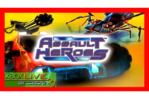 Assault Heroes 1, xbox 360 live arcade game [my test ...
